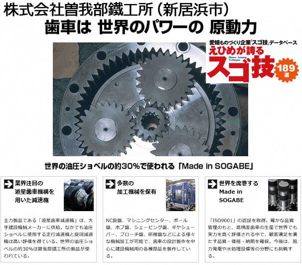 愛媛が誇るスゴ技 純ニッケル切削技術の紹介画像